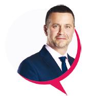 jeden z partnerów Saloner - Andrzej Matracki